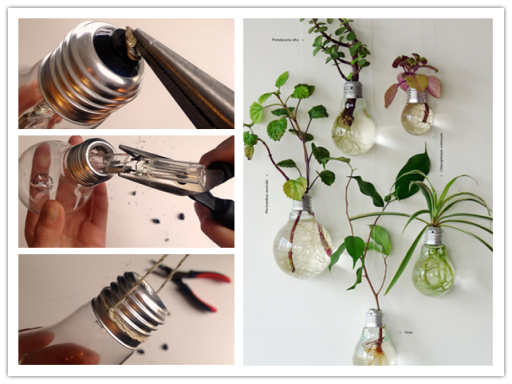 How To Make DIY Light Bulb Planter