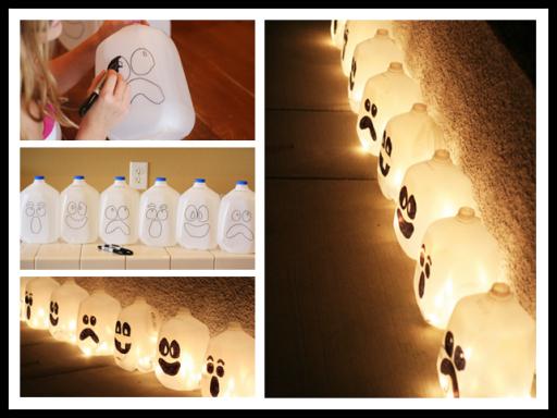How To Make DIY Spirit Lantern Lighting With Milk Jars