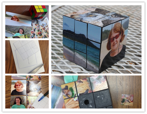 How To Make Personalized Gifts With DIY Rubik's Cube