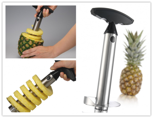 How to slice and cut a pineapple