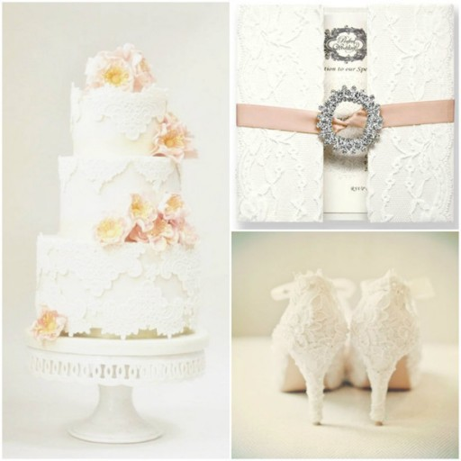 Lovely Lace Wedding Invitations And Wedding Ideas 1