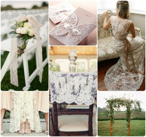 Lovely Lace Wedding Invitations And Wedding Ideas