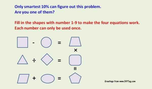Math Equation Problem