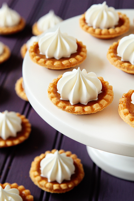 Mini Pumpkin Pie Recipe 1