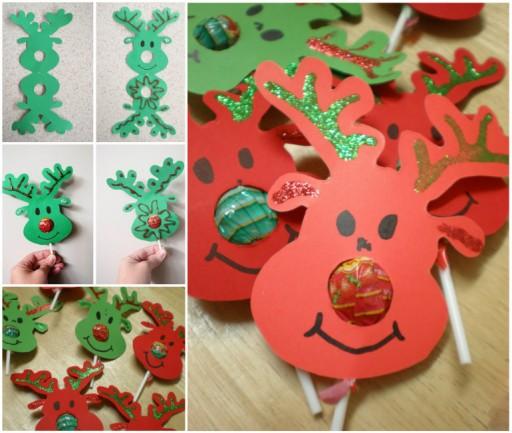 Rudolf The Red-Nosed Reindeer Lollipops