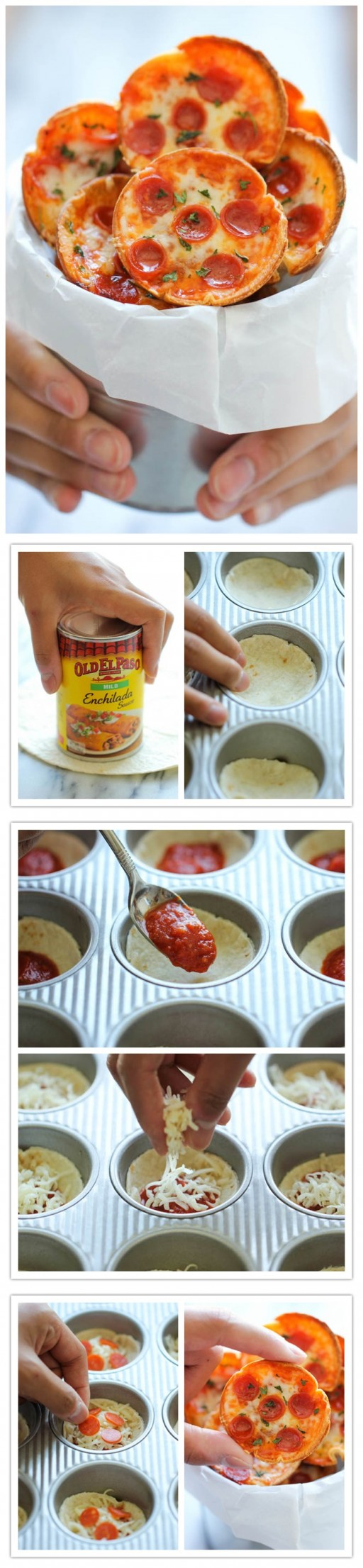 Super Cute Mini Pizza Recipe 1