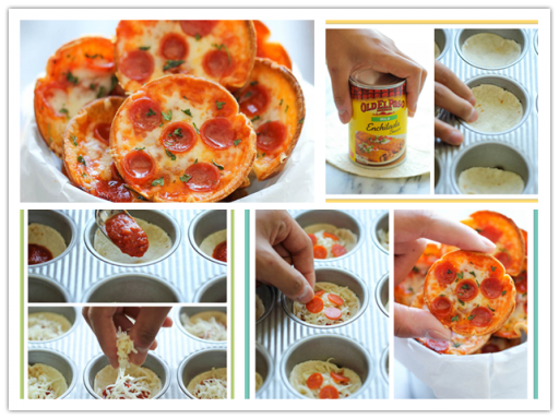 Super Cute Mini Pizza Recipe