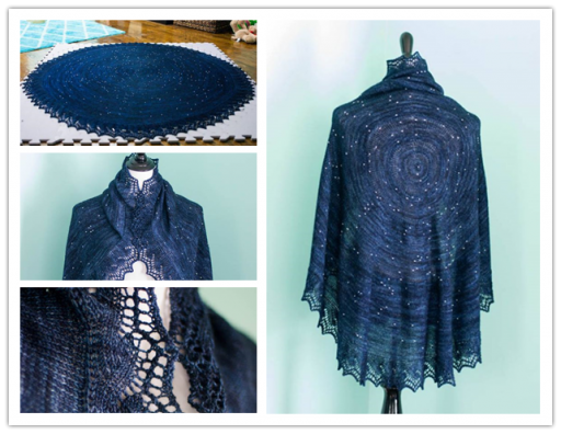 This Is Not Just A Beautiful Shawl, But Also A Star Map Of Our Sky