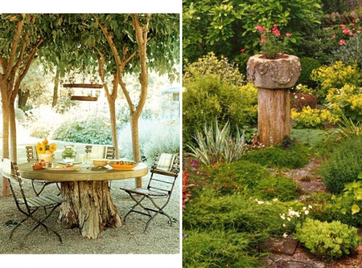 Three Ways To Decorate Old Tree Stumps In Your Garden 3