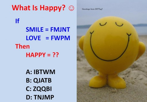 What is happy