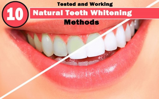 10 Natural Ways For Teeth Whitening 5