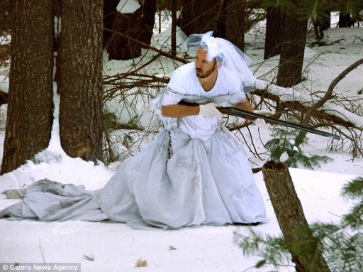 101 Uses For Ex-wife's Wedding Dress 1
