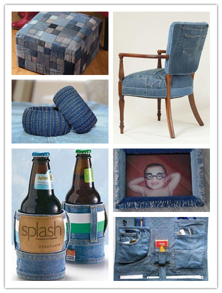 Craft Ideas To Do With Old Jeans 3