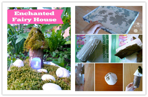 DIY Fairy House Tutorial 1