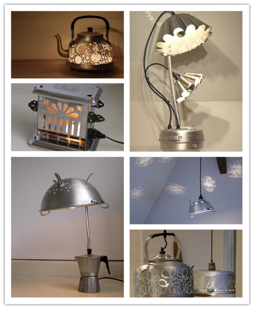 Garbage Lamps From Trash To Treasure 1