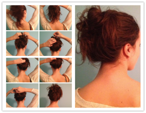 How To Do A Messy Bun Hair Styles 1