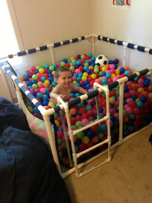 How To Make A Fun DIY Ball Pit For Toddlers