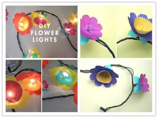 How To Make DIY Flower Lights