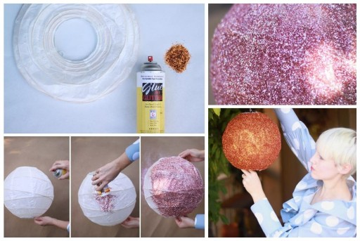 How To Make DIY Glitter Disco Balls