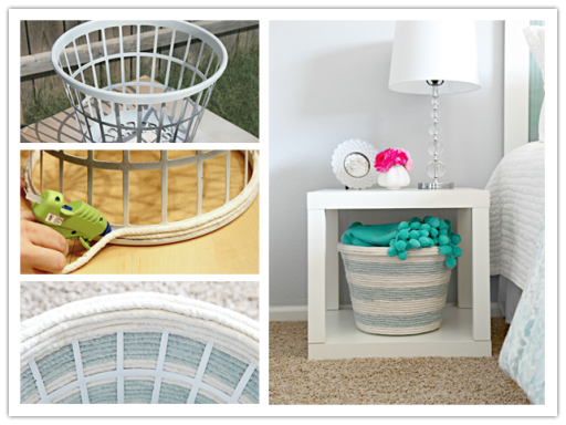 How To Make DIY Rope Storage Basket