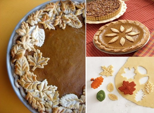 How To Make Pie Crust Leaf Decorations