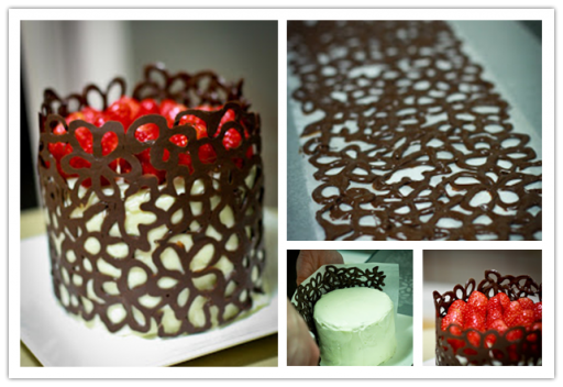 Yummy Lace Chocolate Cake Decorating Tutorial