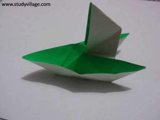 how to make a paper boat 2