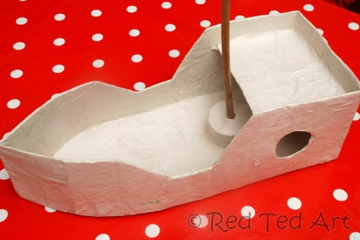 how to make a paper boat 4