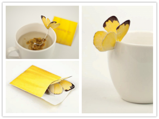 Creative Butterfly Tea Bags