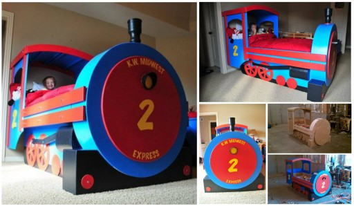 How To Build A DIY Train Bed