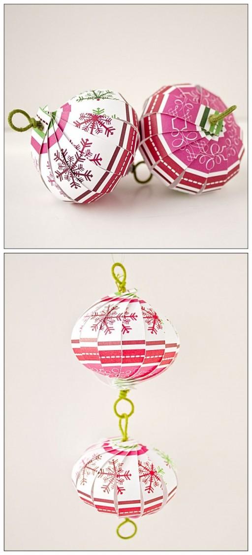 How To Make Decorative DIY Paper Lanterns 1