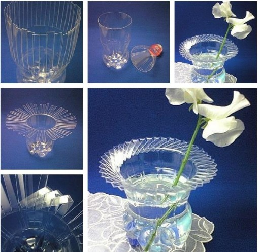 How To Recycle A Plastic Bottle Into A Vase