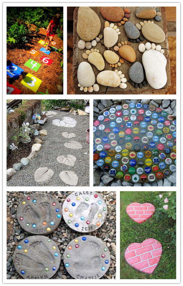 Amazing DIY Stepping Stone Ideas 1