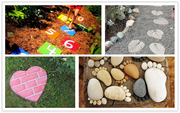 Amazing DIY Stepping Stone Ideas