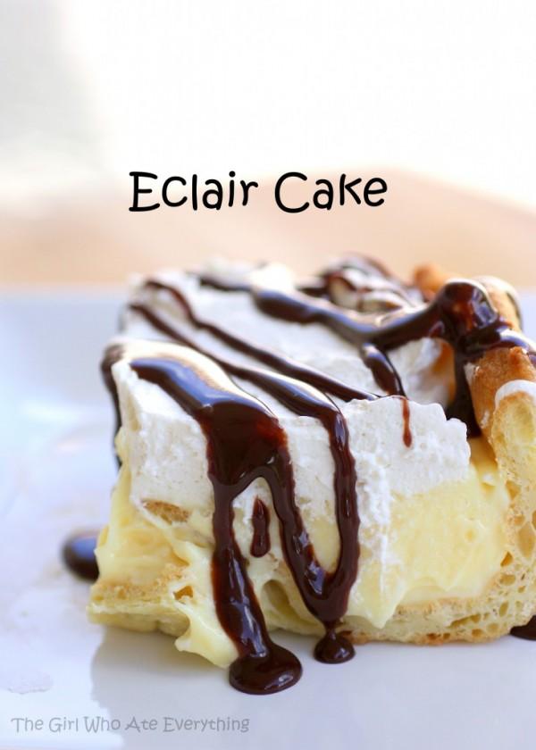 Chocolate Eclair Cake 1