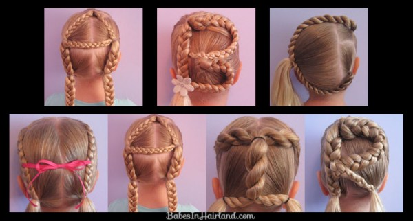 DIY Alphabet Braided Hairstyles 1