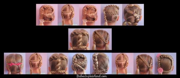 DIY Alphabet Braided Hairstyles 2