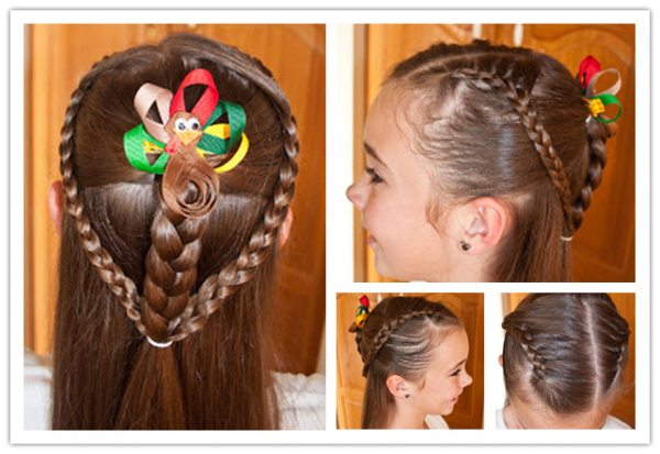 DIY Cute Hairstyle For Little Girl