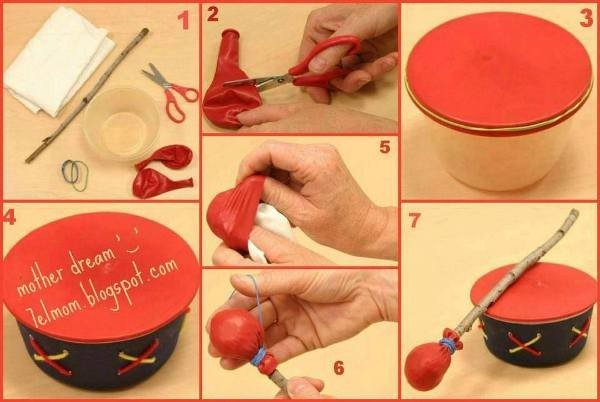 DIY Easy Toy Drum