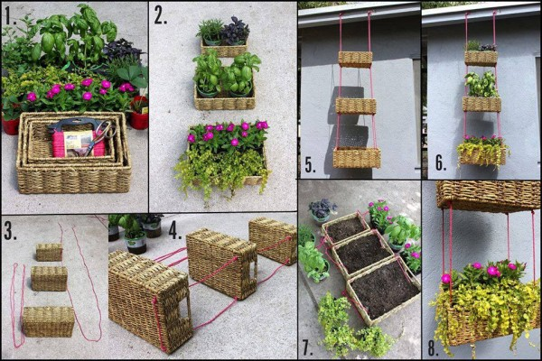 Hanging Baskets DIY Tutorial