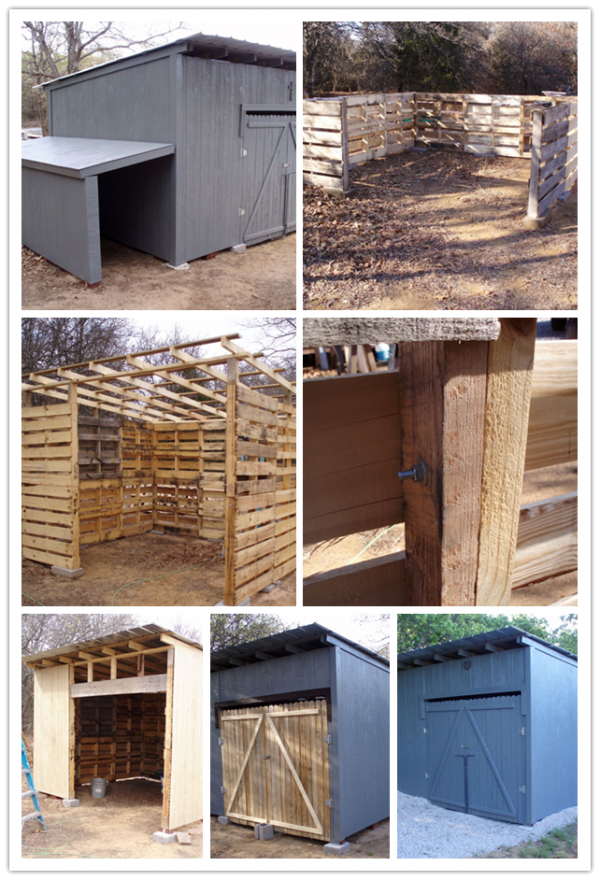 How To Build A Storage Shed With Wood Pallets 2