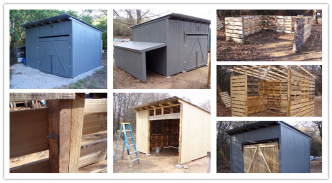 how to build a mini storage shed