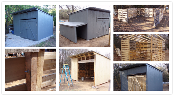 How To Build A Storage Shed With Wood Pallets