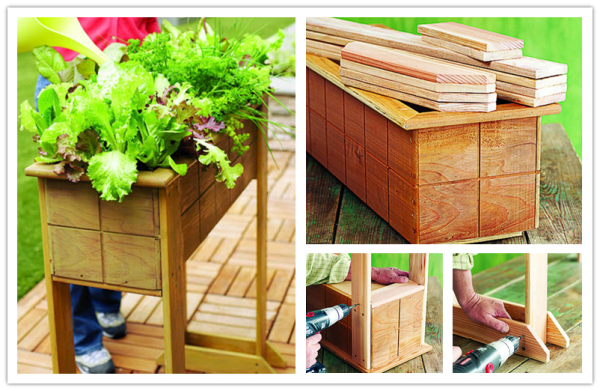 How To Build Small Space Garden Planters