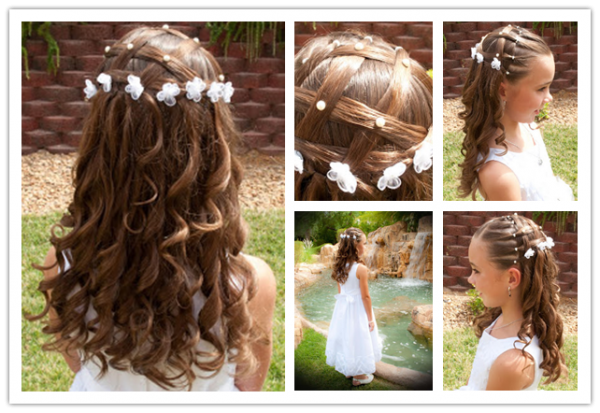 How To Do Cute Flower Hairstyle
