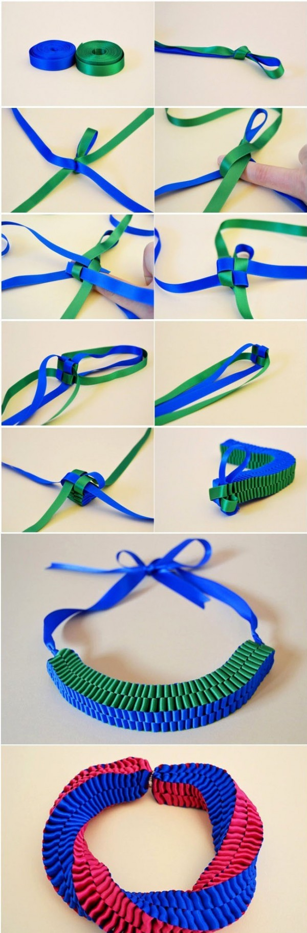 How To Make A Ribbon Bracelet 1