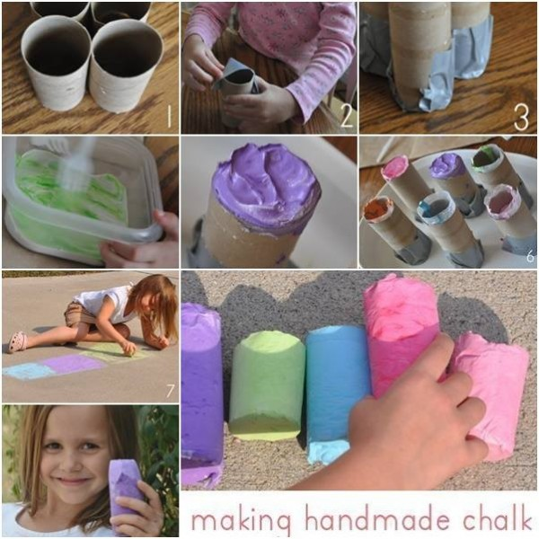 How To Make Chalk At Home