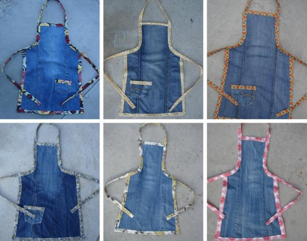 How To Make Upcycled Jeans Apron 2