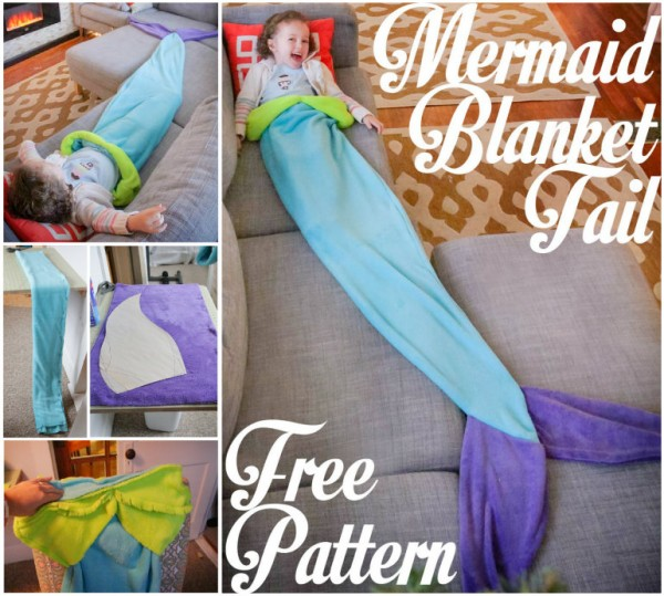 Mermaid Tail Blanket - Free Pattern