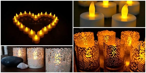 Romantic LED Tea Lights